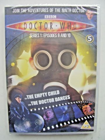 Doctor Who Series 1 Episodes 9 & 10  DVD  Christopher Eccleston  SEALED